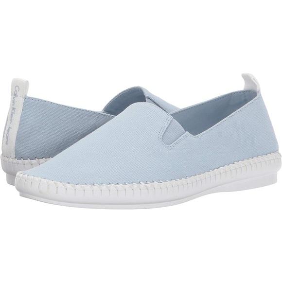 f13283f6f8 Calvin Klein Jeans Shoes | Calvin Klein Baby Blue Tennies 10 | Poshmark